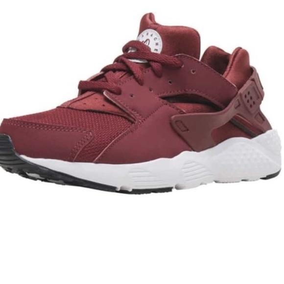 Nike Shoes | Burgundy Huaraches | Poshmark